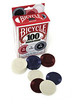 FICHAS POKER BICYCLE 100 UNIDADES