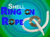 SHELL RING ON ROPE